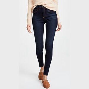 RAG & BONE High Rise Skinny Jeans W25